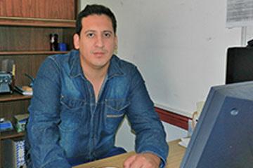 Concejal Marcelo Sebastián López